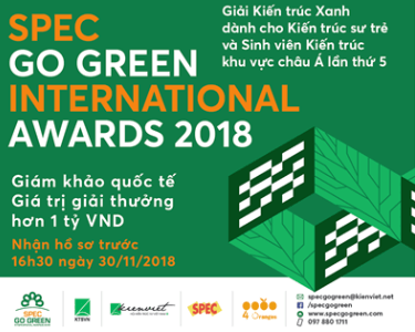 Spec Go Green là giải thưởng thường niên về kiến trúc khu vực Châu Á