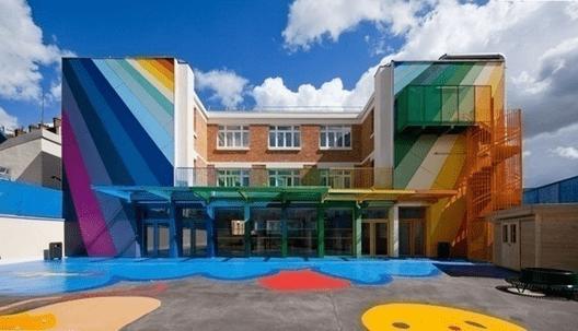 Màu sắc đóng vai trò quan trọng trong kiến trúc