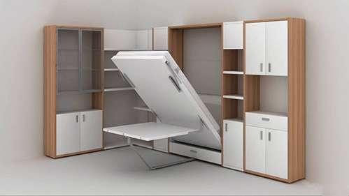 Nội thất thông minh, tủ - giường - bàn ba trong một
