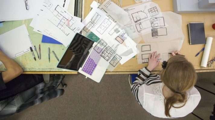 Thực tập với sinh viên Kiến trúc năm cuối