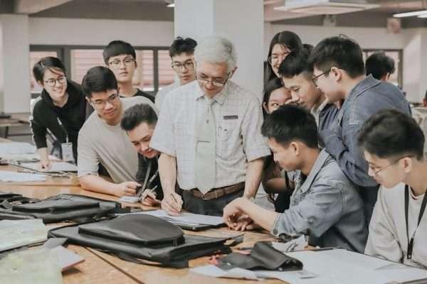 sinh viên theo học ngành Kiến trúc