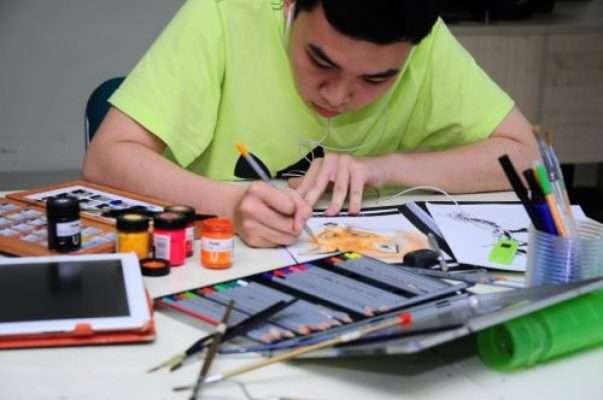 Học vẽ với ngành Kiến trúc