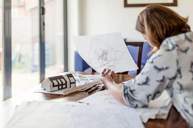 Sinh viên ngành Kiến trúc